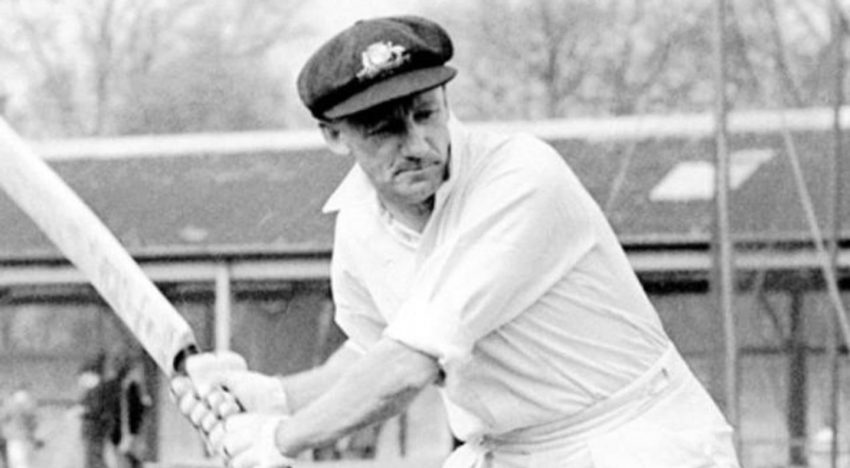 Don Bradman file Photo